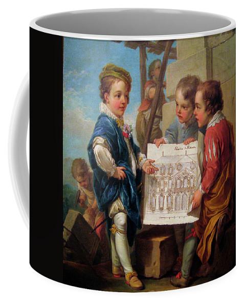 Carle Vanloo Coffee Mug featuring the digital art Oil On Canvas by Mark Carlson