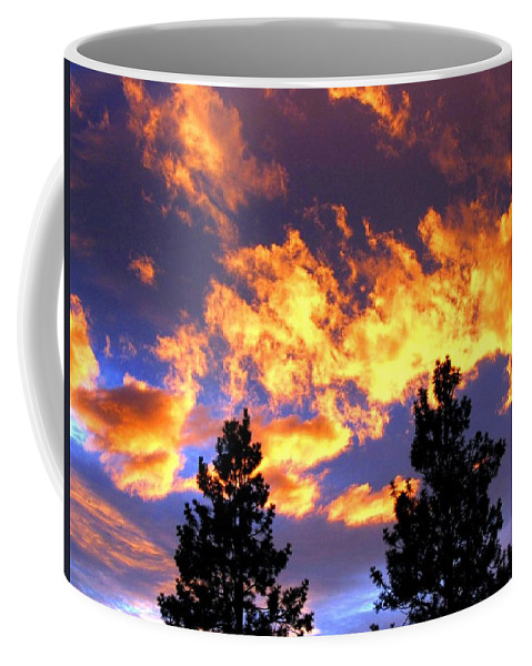 Sunset Coffee Mug featuring the photograph Okanagan Sunset by Will Borden