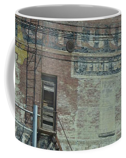 Advertising Coffee Mug featuring the photograph Free Delivery by Linda Benoit