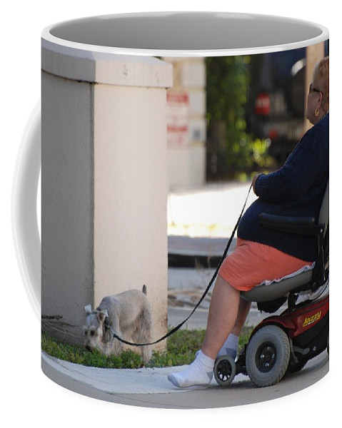 Women Coffee Mug featuring the photograph Old Barefoot Women by Rob Hans