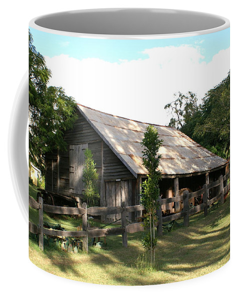 Photo Coffee Mug featuring the photograph Old Barn by Brian Leverton
