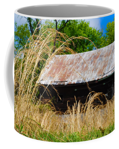Barn Coffee Mug featuring the photograph Old Barn In Roxborough by Bill Cannon