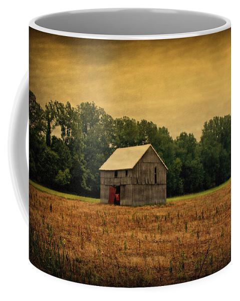 Barns Coffee Mug featuring the photograph Old Barn by Sandy Keeton