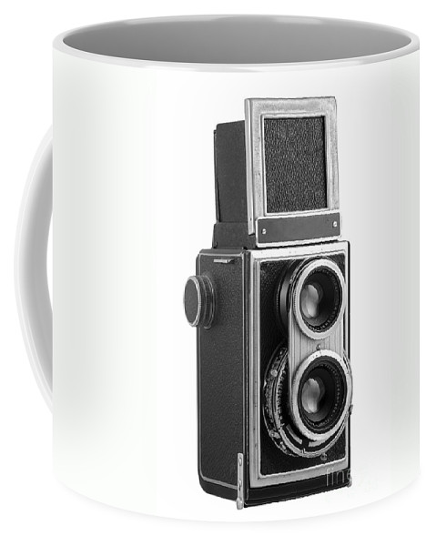 Camera Coffee Mug featuring the photograph Old Camera by Michal Boubin