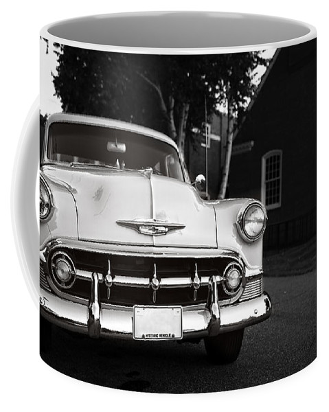 Connecticut Coffee Mug featuring the photograph Old Chevy Connecticut by Edward Fielding