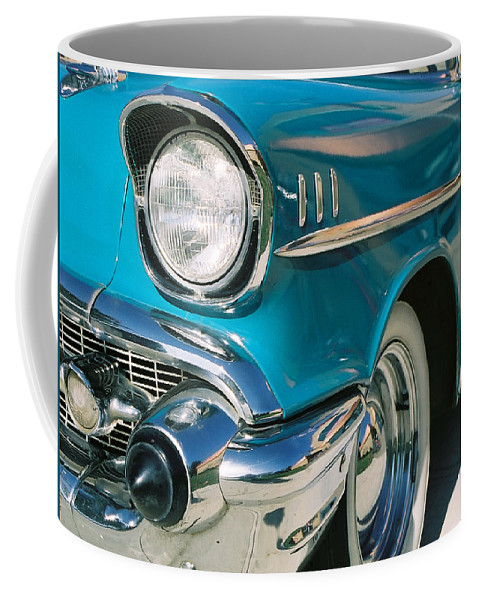 Chevy Coffee Mug featuring the photograph Old Chevy by Steve Karol