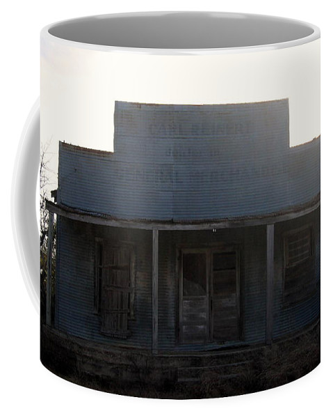 Old Country Store Coffee Mug featuring the photograph Old County Store Indian Gap Tx by Amy Hosp