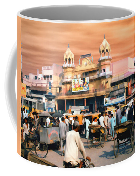 India Coffee Mug featuring the photograph Old Dehli by Kurt Van Wagner