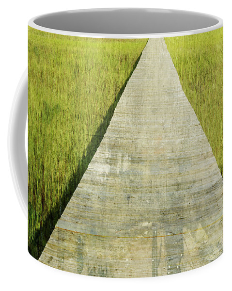 Coffee Mug featuring the photograph Old Dock by Guy Crittenden