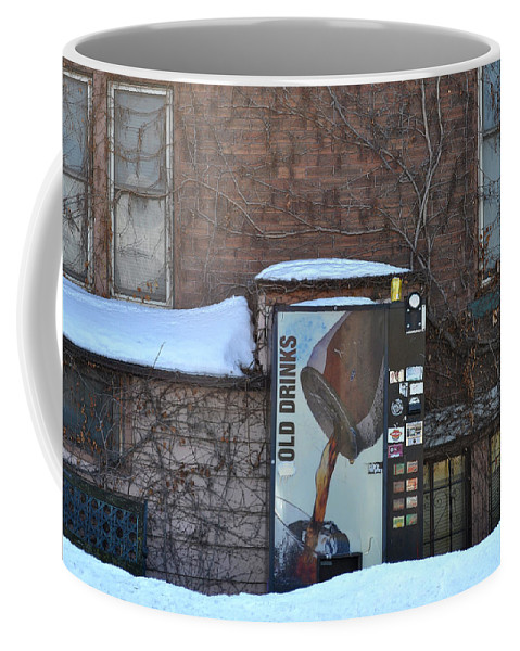 Drinks Coffee Mug featuring the photograph Old Drinks by Tim Nyberg