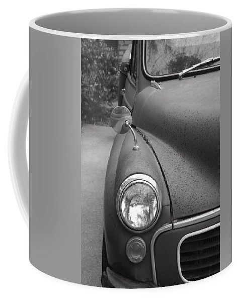 Old Coffee Mug featuring the photograph Old English Car by Marilyn Hunt