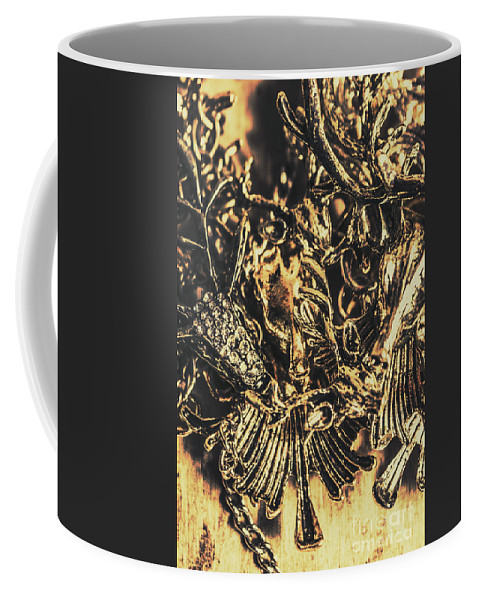 Jewelry Coffee Mug featuring the photograph Old-fashioned Deer Jewellery by Jorgo Photography - Wall Art Gallery