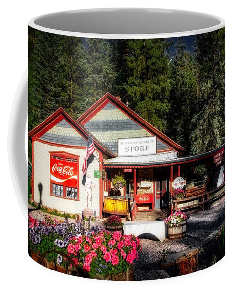Redstone Coffee Mug featuring the photograph Old Fashioned General Store by Mountain Dreams