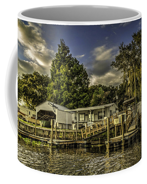Florida Coffee Mug featuring the photograph Old Florida by Rogermike Wilson