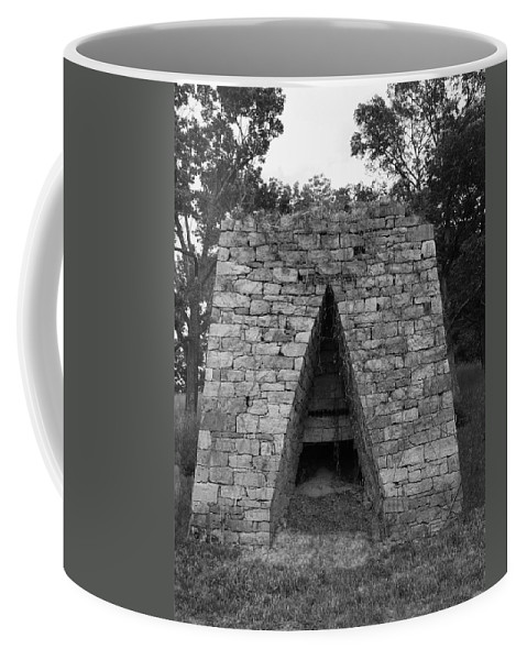 Furnace Coffee Mug featuring the photograph Old Furnace by Eric Liller