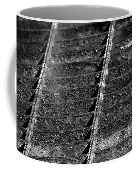 Grate Coffee Mug featuring the photograph Old Grate by Phyllis Denton