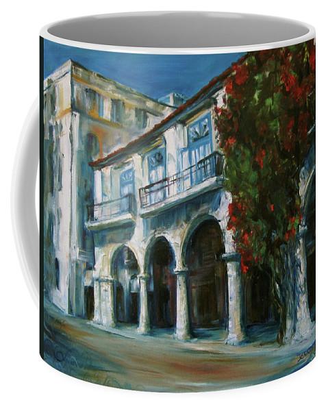 Old Havana Coffee Mug featuring the painting Old Havana by Jennifer Christenson