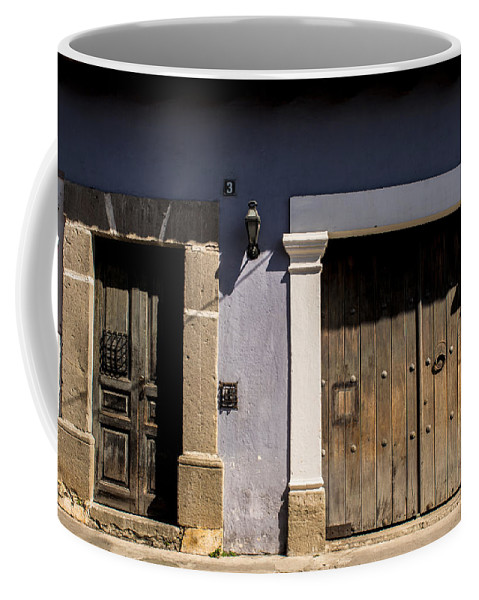 Antigua Guatemala Coffee Mug featuring the photograph Old House - Antigua Guatemala by Totto Ponce