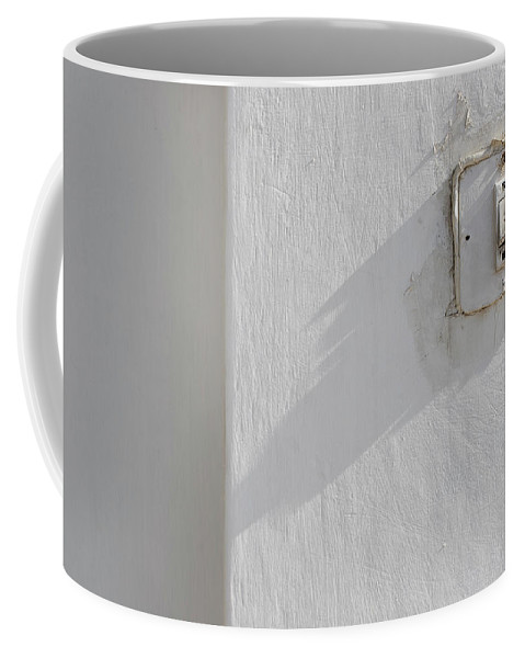 Minimal Coffee Mug featuring the photograph Old House Bell by Prakash Ghai