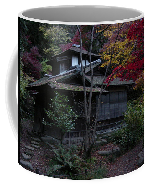 Fall Coffee Mug featuring the photograph Old Japan by D Turner