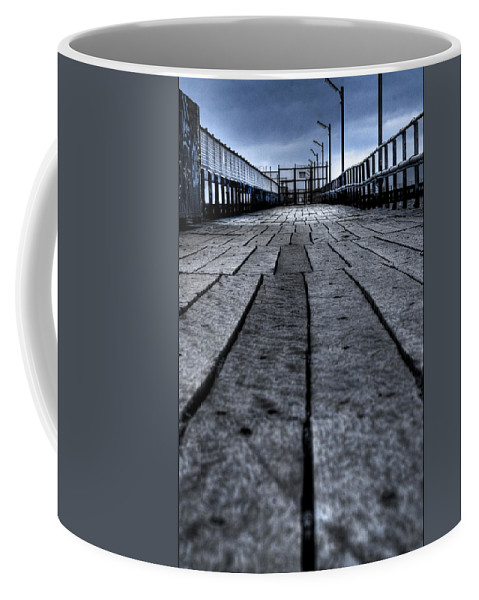 Jetty Coffee Mug featuring the photograph Old Jetty 2 by Kelly Jade King