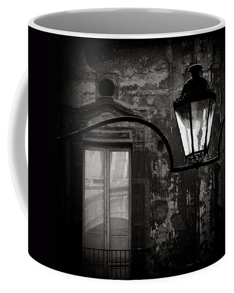 Naples Coffee Mug featuring the photograph Old Lamp by Dave Bowman
