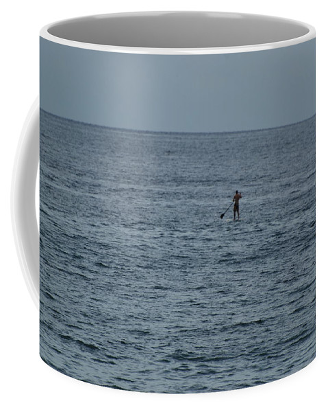 Sea Scape Coffee Mug featuring the photograph Old Man In The Sea by Rob Hans