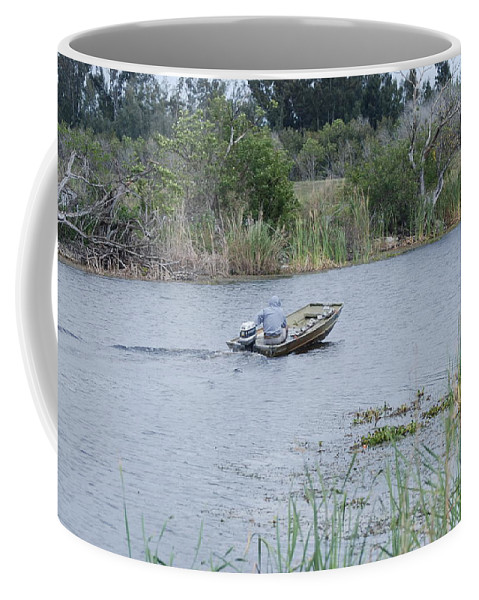 River Coffee Mug featuring the photograph Old Man River by Rob Hans