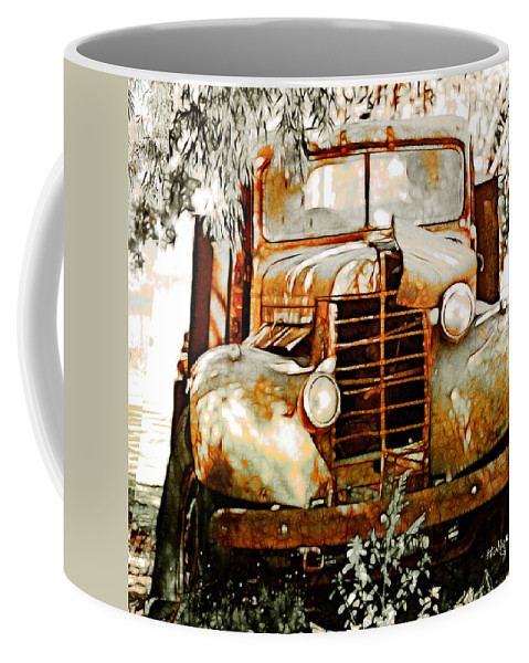 Transportation Coffee Mug featuring the photograph Old Memories Never Die by Holly Kempe