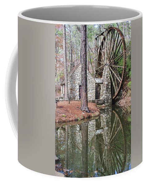 Old Mill Coffee Mug featuring the photograph Old Mill 2 by Tina Cannon