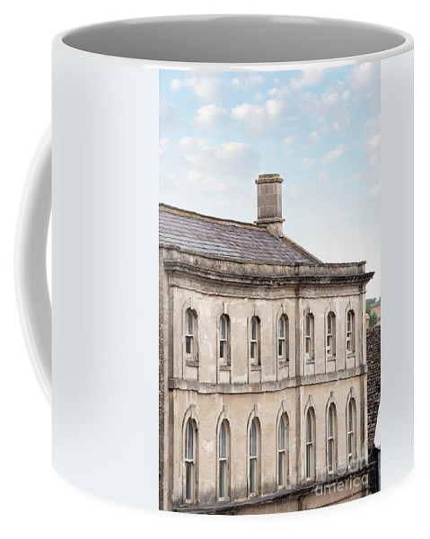 Building Coffee Mug featuring the photograph old mill building Oxford, England by Lee Avison