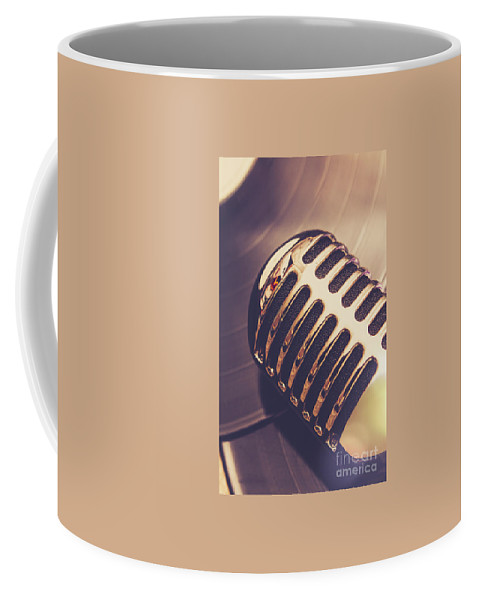 Musical Coffee Mug featuring the photograph Old Radio Nostalgia by Jorgo Photography - Wall Art Gallery