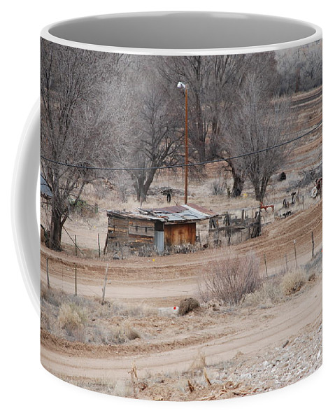 House Coffee Mug featuring the photograph Old Ranch House by Rob Hans