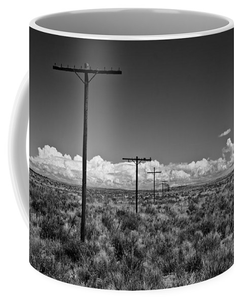 Route 66 Coffee Mug featuring the photograph Old Route 66 #2 by Robert J Caputo