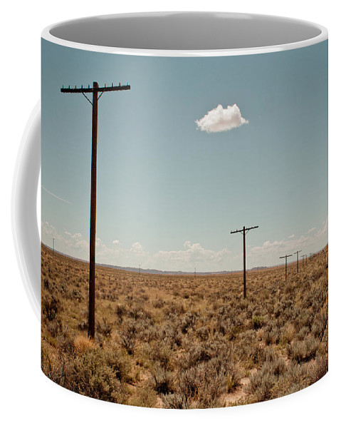 Route 66 Coffee Mug featuring the photograph Old Route 66 #3 by Robert J Caputo
