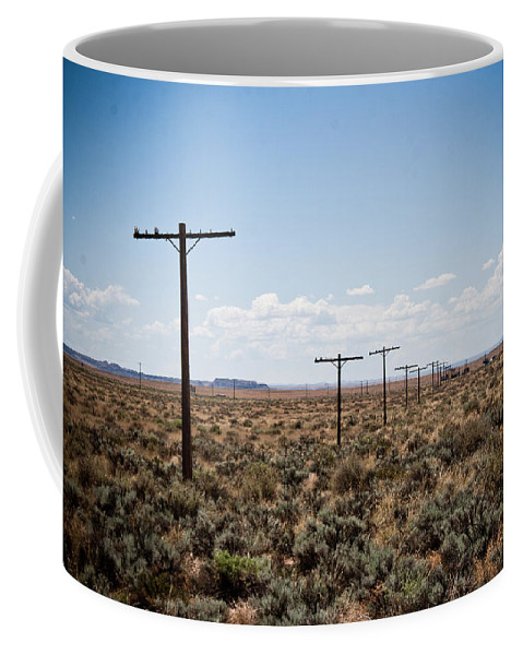 Route 66 Coffee Mug featuring the photograph Old Route 66 #4 by Robert J Caputo