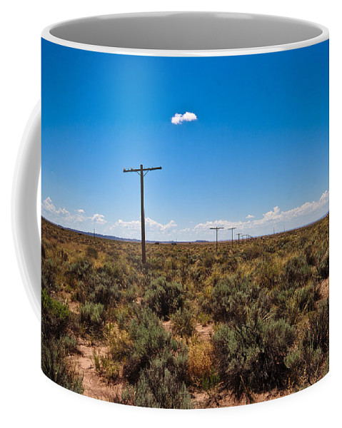 Route 66 Coffee Mug featuring the photograph Old Route 66 #5 by Robert J Caputo