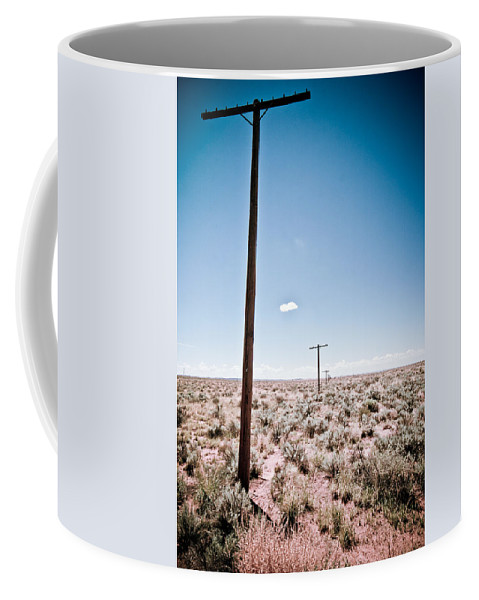 Route 66 Coffee Mug featuring the photograph Old Route 66 #6 by Robert J Caputo