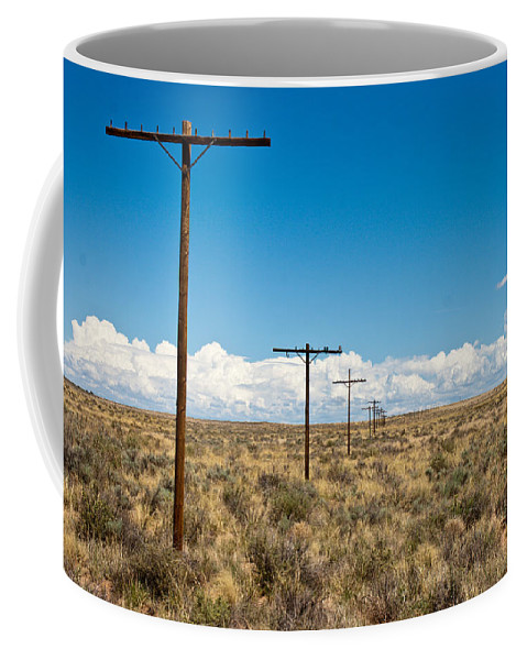 Route 66 Coffee Mug featuring the photograph Old Route 66 by Robert J Caputo