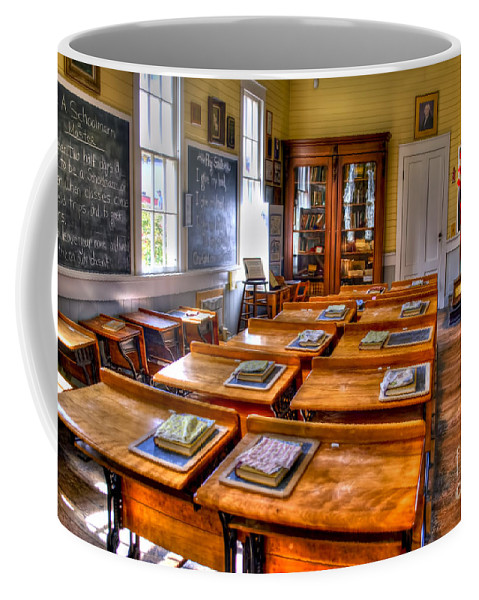 School Coffee Mug featuring the photograph Old School by Diego Re