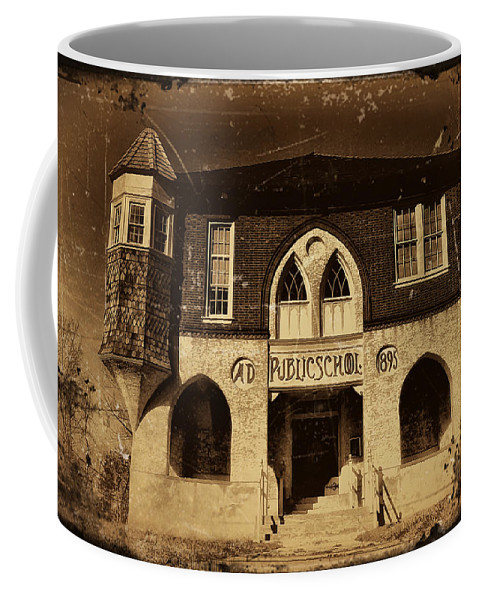 Public Coffee Mug featuring the photograph Old School by Bill Cannon