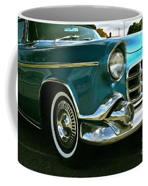 Car Coffee Mug featuring the photograph Old School by Rick Monyahan