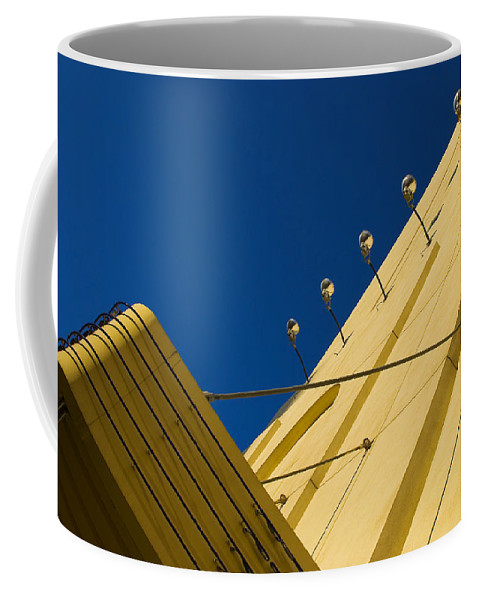 Electric Coffee Mug featuring the photograph Old School Vegas by Skip Hunt
