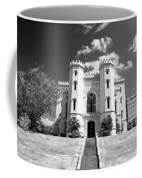 Buildings Coffee Mug featuring the photograph Old State Capital - Infared by Scott Pellegrin