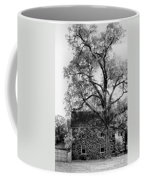 Homes Coffee Mug featuring the photograph Old Stone House by Richard Rizzo