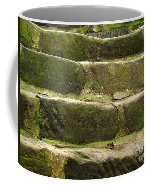 Steps Coffee Mug featuring the photograph Old Stone Steps by Yali Shi