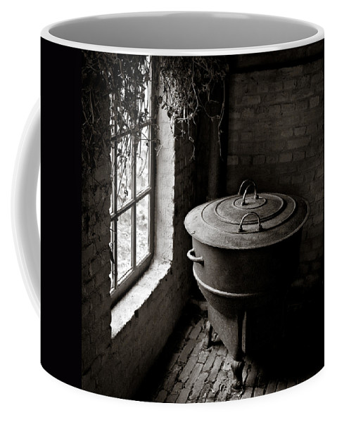 Old Coffee Mug featuring the photograph Old Stove by Dave Bowman