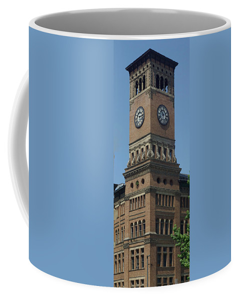 Building Coffee Mug featuring the photograph Old Tacoma City Hall by Louise Magno