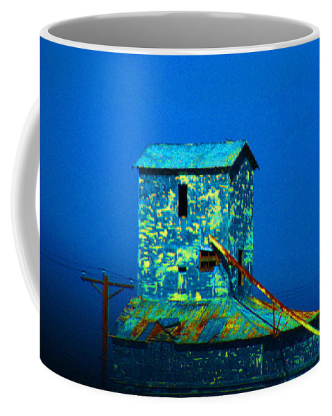 Mill Coffee Mug featuring the photograph Old Texas Mill by Susanne Van Hulst