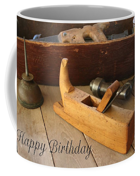 Tool Coffee Mug featuring the photograph Old Tools by Marna Edwards Flavell